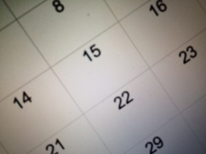 band director calendar