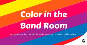 Color in the Band Room