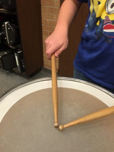 Percussionist's Grip