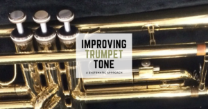 Click here for an excellent article on how to improve trumpet tone and trumpet embouchure. So many great brass playing tips to implement with your beginner trumpet players! They will learn to make a beautiful sound by practicing with and without the mouthpiece and focusing on their breathing techniques as well as listening skills. #trumpet #trumpettone #trumpet technique #beginningtrumpetclass #bandteacher #beginningband