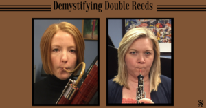 Great tips for teaching double reeds! A great article with pictures! Visit Band Directors Talk Shop for more great articles! #banddirectorstalkshop