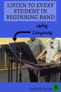 Teaching beginner instrument classes is simultaneously rewarding and overwhelming. We all know that we should be hearing our students play individually as frequently as possible. Learn how to use lanyards in this article to effectively call on students individually and randomly. A cheap, inexpensive and fun idea for beginning band class or concert band! A great tip for band directors and music teachers!