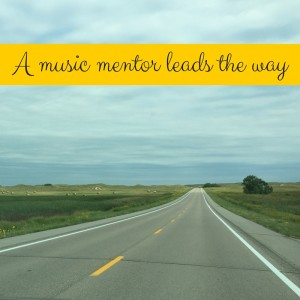 A music mentor leads the way