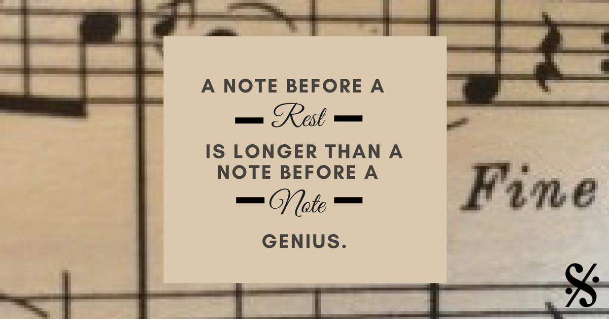 A Note Before a Rest... - Band Directors Talk Shop