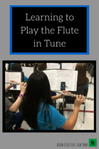 A great article that explains how to play the flute in tune!