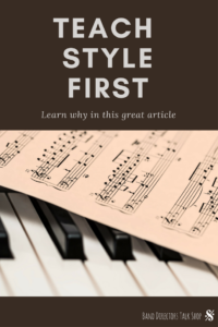 Do you struggle to get your music students to play with the proper style?  Do they learn the notes, but seem to have a hard time playing musically?  If yes, this article is for you!  Teach your students to play more musically by talking about style from the beginning!  This is a great read for middle school band directors, choir teachers and orchestra directors.  Great tips on teaching music style from a seasoned band director!