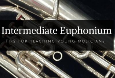 Fantastic tips for teaching beginning euphonium from a seasoned brass teacher. For more great articles, visit Band Directors Talk Shop! #banddirectorstalkshop