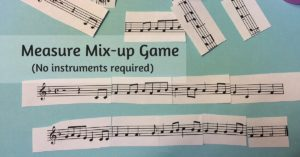 Measure Mix-Up Game