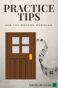 "Practice Tips for Musicians. Learn more about using ""airplane"" mode during your practice session by reading this great article! For more great band resources, www.BandDirectorsTalkShop.com. #banddirectorstalkshop"