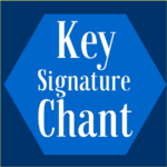 Key signature chant