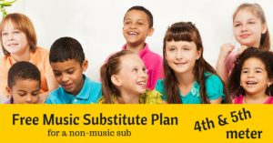 Music substitute lesson plan
