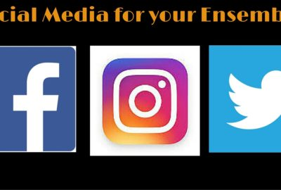 Social media for your ensemble