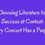 Choosing Literature Band