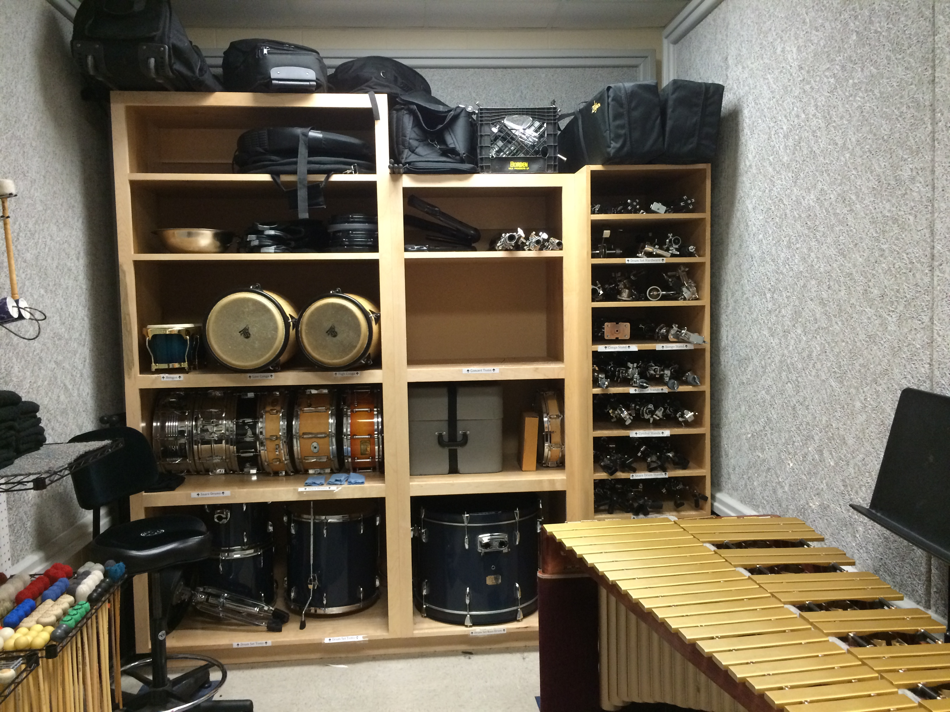 It Room: Percussion Room Makeover!