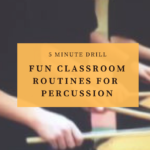 Need resources for middle school aged percussionists? This article contains info on 10 introductory percussion ensembles that many directors use as their first resource for selecting ensemble music for their students. A growing number of educators are using it as a regular part of their daily percussion curriculum. This article is packed full of percussion teaching tips- a must read for band directors and private lesson teachers. #percussion #beginningpercussion #teachingpercussion