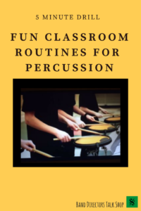 Need classroom routines for percussion?  This article contains info on 10 introductory percussion ensembles that many directors use as their first resource for selecting ensemble music for their students. A growing number of educators are using it as a regular part of their daily percussion curriculum. This article is packed full of percussion teaching tips- a must read for band directors and private lesson teachers.  #percussion #beginningpercussion #teachingpercussion