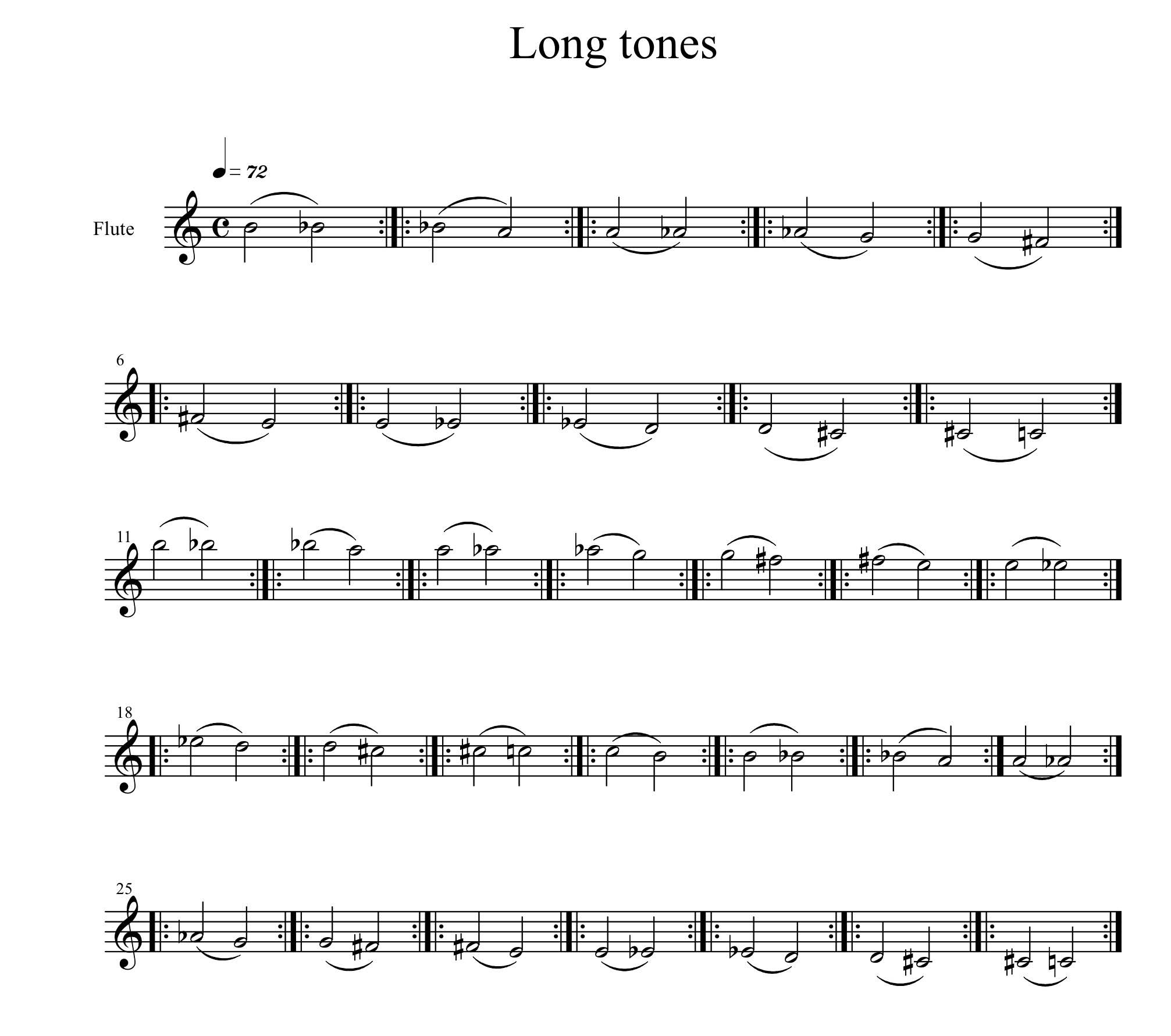 Blowing Between the Notes: The Fine Art of Flute Legato - Band