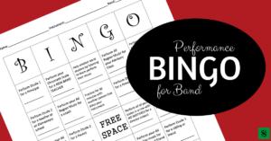 Performance bingo