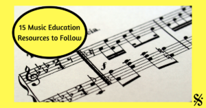 music education resources to follow