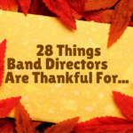 band directors are thankful for
