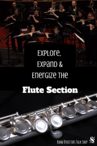 Explore, expand & energize the flute section with tips from this wonderful article for band directors. Get your flute players excited about band!