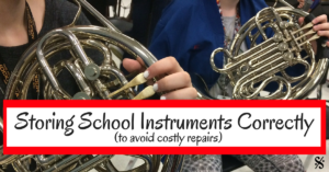 Storing School Instruments Correctly (to avoid extra repair costs) (1)