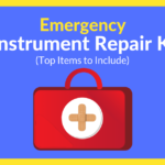 Everything you need for your emergency instrument repair kit can be found in this article! Great suggestions for every band program. Be prepared for spring trips, football games, contest and performances! Suggestions include mouthpiece puller, repair pliers, water key and valve spring assortment, pads, corks, screwdrivers, timpani keys, slide-o-mix and more! Great tips from N Tune Music and Sound, a reputable instrument repair shop located in Texas.