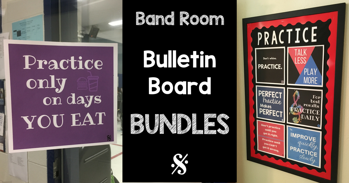 picture relating to Printable Poster Board titled Band Corridor Bulletin Board Printables - Band Administrators Chat Store