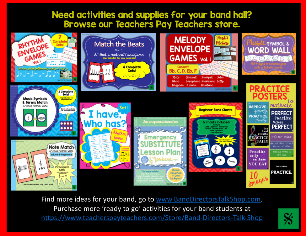 https://www.teacherspayteachers.com/Store/Band-Directors-Talk-Shop