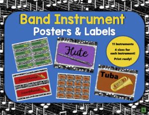 Band Hall Bulletin Board Printables