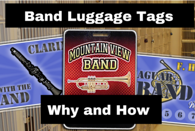 Band Luggage Tags