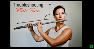 Troubleshooting flute tone