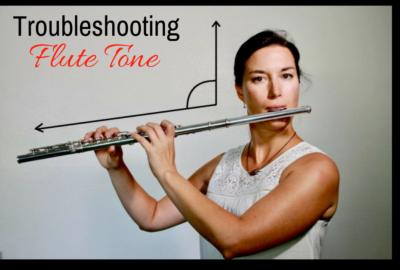 Troubleshooting flute tone