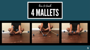 4 mallet percussion grip, the Stevens technique