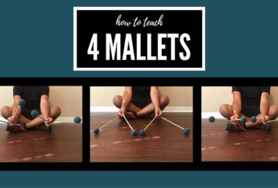 4 mallet percussion grip, the Stevens technique