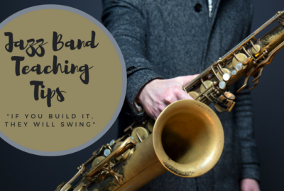 Great article about teaching jazz band.! Tips and tricks for starting a middle school jazz band. For more great articles, visit Band Directors Talk Shop!