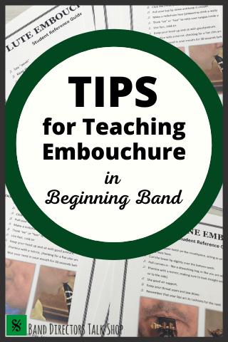 teaching embouchure