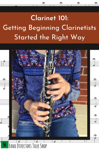 beginning clarinet
