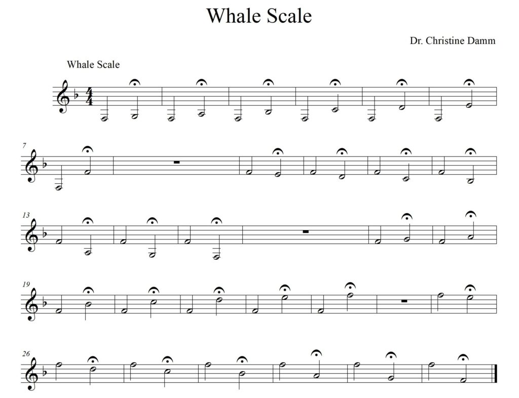 Whale Scale