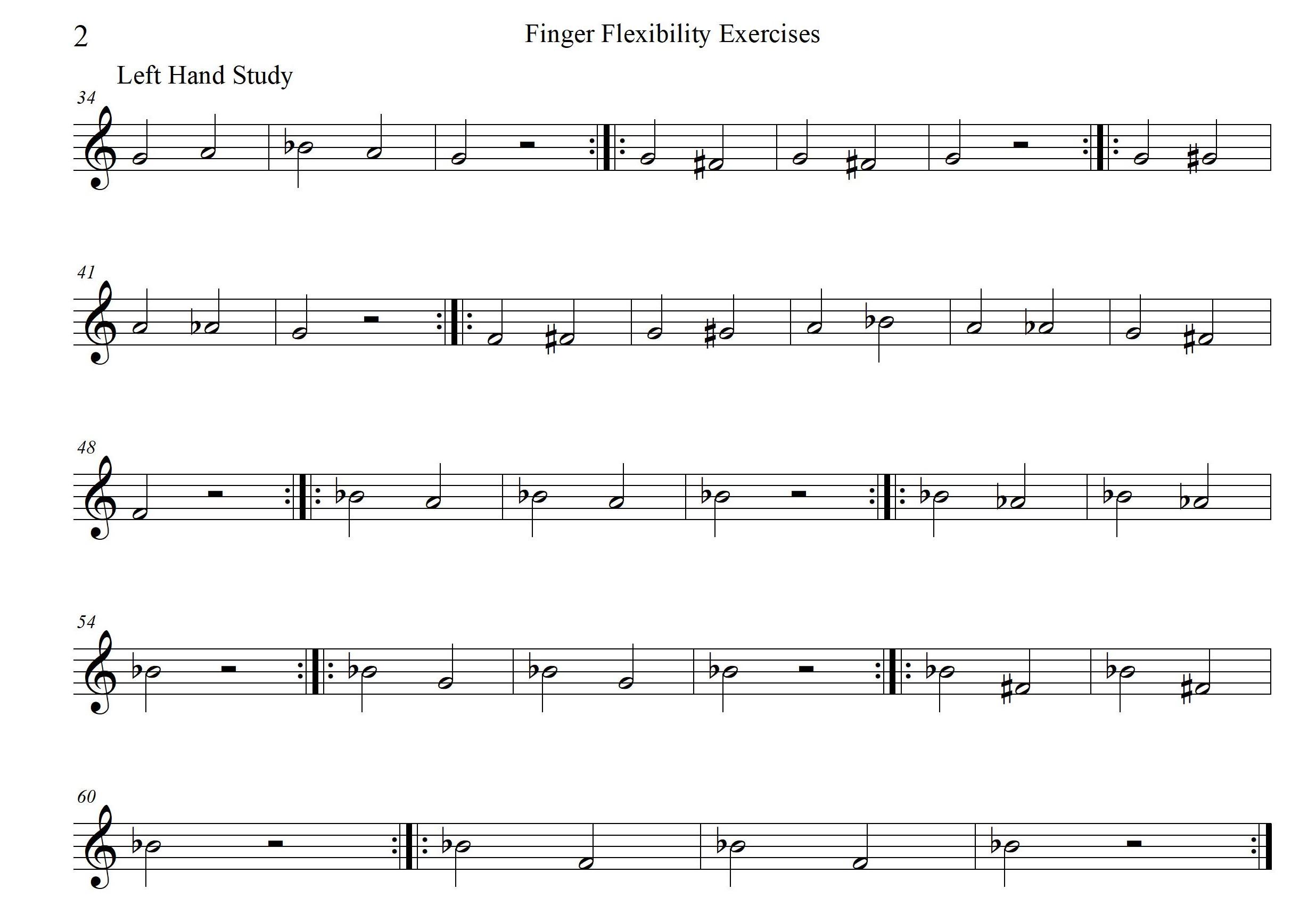 Finger Flexibility Exercises